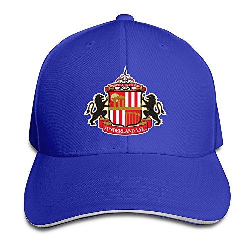 - MARC Custom Sunderland Association Football Unisex-Adult Hip Hop Cap Hat RoyalBlue