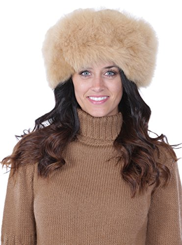 Alpaca Fur Hat - Russian Cossack style (Fawn) by INCA Fashions