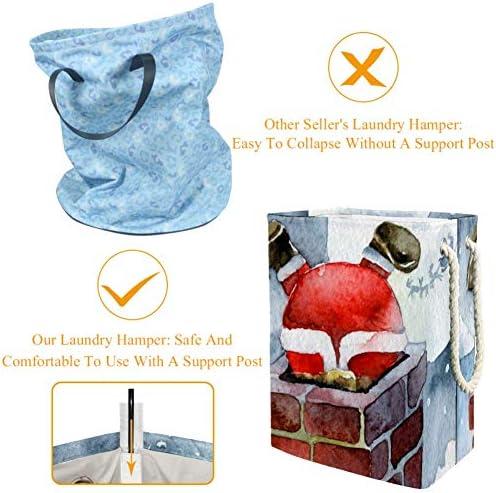 Tizorax Panier à linge en PVC imperméable à l'eau sale avec poignée souple pliable coloré pour maison, bureau, dortoir