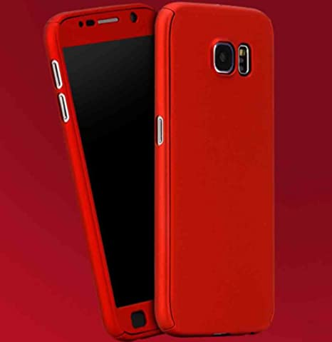 Galaxy S5 Armor Funda, 360° Full Edge Combined Awesome Ultra Hybrid Carcasa With Clear Glass, TAITOU Cool Ultralight Slim Anti-Drop Phone Funda For ...