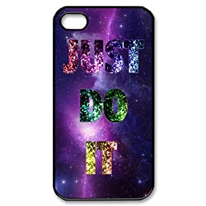 Custom Just Do it Cover Case for iPhone 4 4s LS4-2338
