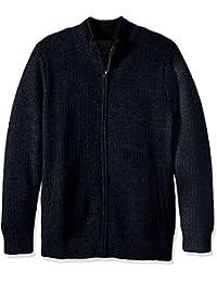 Men's Shetland Full-Zip Cardingan Sweater