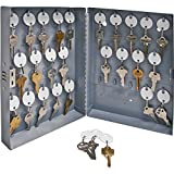 S.P. Richards Company Secure Key Cabinet, 10 x 3 x 12 Inches, 28 Keys, Gray (SPR15600)