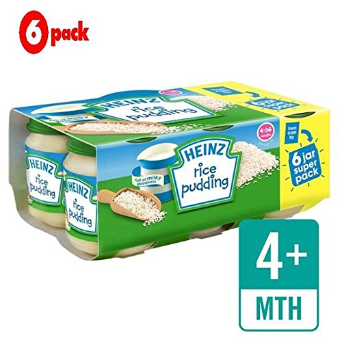 Heinz Rice Pudding Jar 6 x 120g