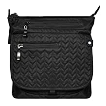 Sherpani Men's Jag Le Cross Body Bag, Black, One Size