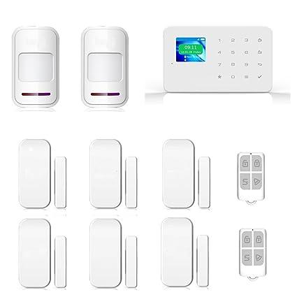 SZABTO Inalámbrico Touch RFID Color Display inalámbrico GSM ...