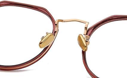 Verringerung der Augenbelastung,Kopfschmerz Herren Damen EKEK Vintage Brillen Computer-Gl/äse Blaulichtfilter