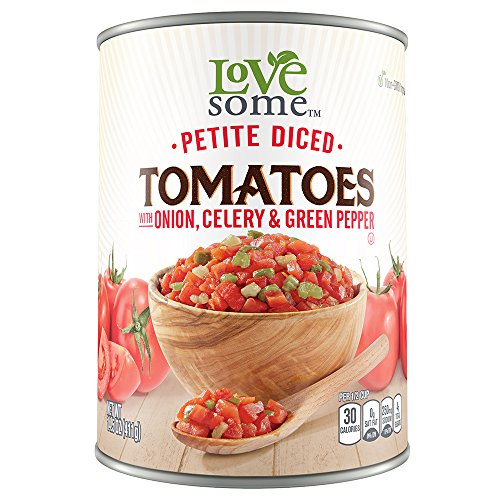LoveSome Diced Tomatoes, 14.5 Ounce Sweet Petite Liner