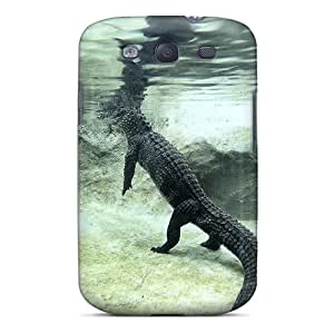Durable Case For The Galaxy S3- Eco-friendly Retail Packaging(chinese Alligator)