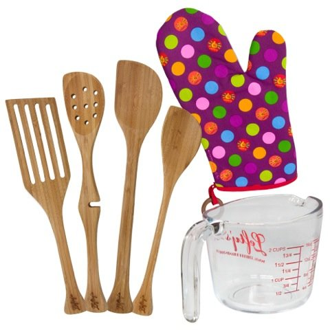 Left-handed 6 Piece Baker's Kitchen Set by Lefty's The Left Hand Store