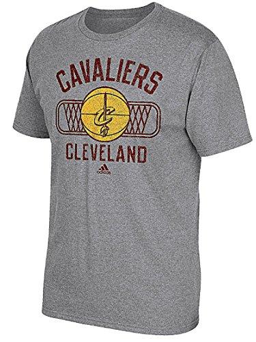Cleveland Cavaliers Mens Slimmer Fit Grey Athletic Dept Blended T Shirt ()