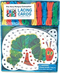 The World of Eric Carle™ and The Very Hungry Caterpillar™ Lacing Cards offers little minds the perfect combination of entertainment and learning.Features charming illustrations and some of your favorite characters: These entertaining and educ...