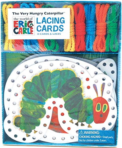 Chronicle Books The World of Eric Carle(TM) The Very Hungry Caterpillar(TM) Lacing Cards (The Very Hungry Caterpillar Activities For Toddlers)
