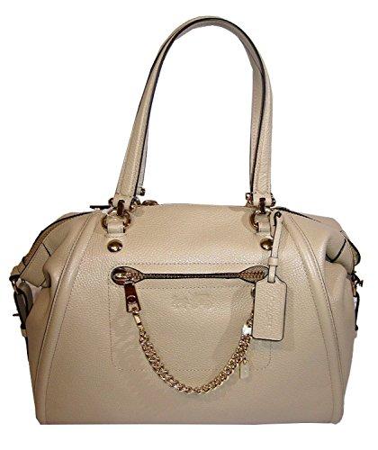 Coach Prairie Satchel Handbag Leather
