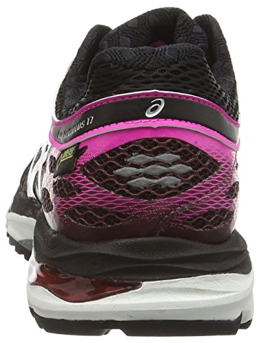 Asics Gel-Cumulus 17 G-TX, Chaussures de Running Entrainement Femme Noir (royal Burgundy/onyx/pink Glow 2999)