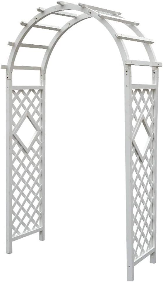XH&XH Arch Plant Stand Garden Arbor Pergola Arch for Various Indoor/Outdoor Climbing Plants Great for Backyard Lawn Patio Backyard