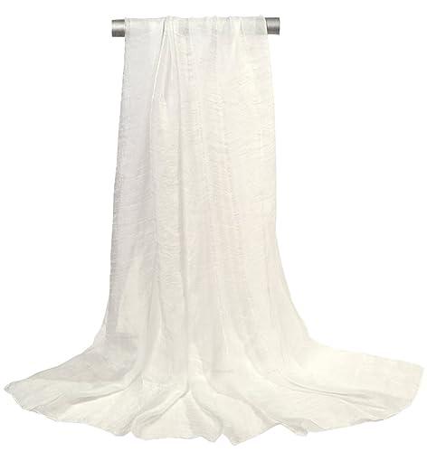 Ouye Mujer Suave Mantón de la Bufanda de la Gasa,150cmx120cm