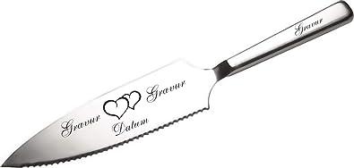 APS Tortenmesser/Kuchenheber mit eigener Gravur