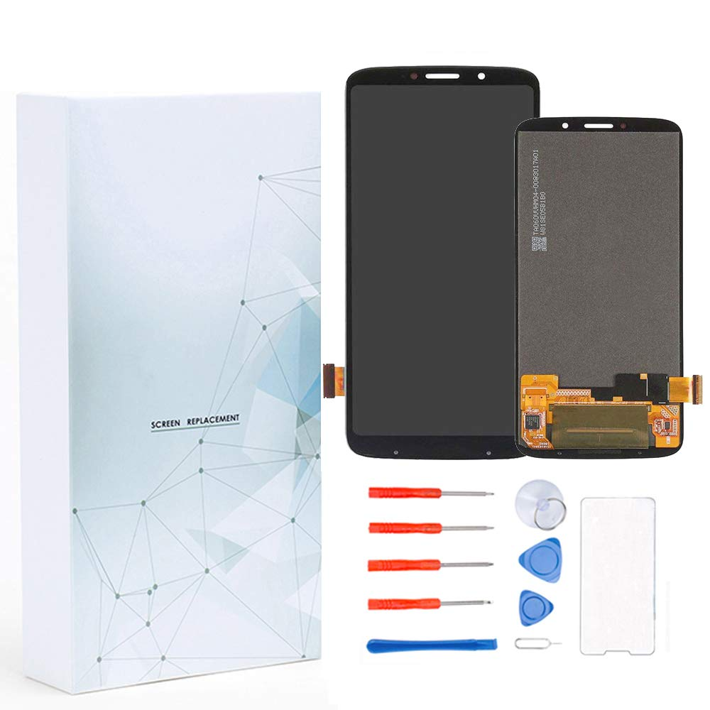 Maojia Screen Replacement Compatible for Motorola Moto Z3 Play XT1929-1 XT1929-3 XT1929-4 XT1929-5 XT1929-6 XT1929-6M XT1929-8 XT1929-15 XT1929-17 LCD Display Touch Digitizer Assembly (No Adhensive)
