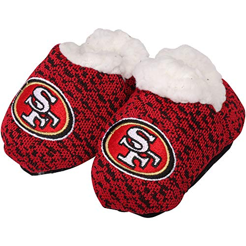 Forever Collectibles FOCO NFL Infant Knit Baby Bootie Shoe (San Francisco 49ers, Small (0-3M))