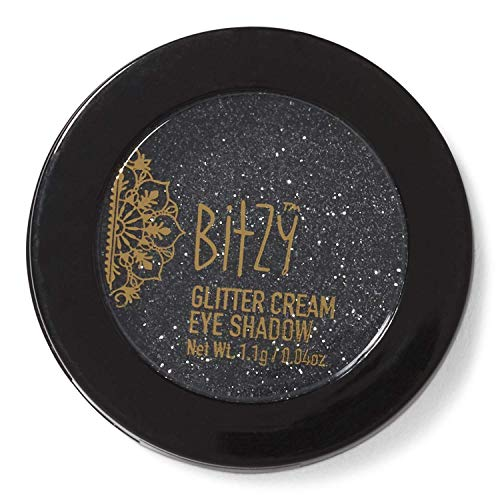 Glitter Crème-Black with Silver