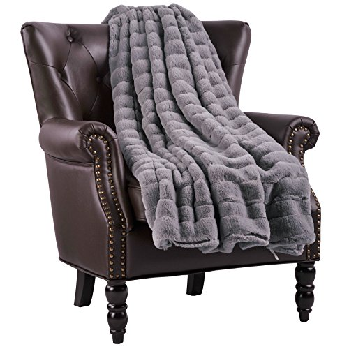 (Home Soft Things Supermink Throw Blanket, 60