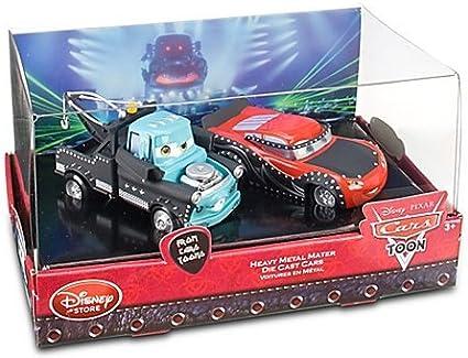 Amazon Com Disney Cars Toon Heavy Metal Mater Die Cast Cars Set 2 Pc Toys Games