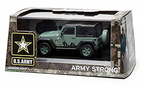 Amazon Com 2012 Jeep Wrangler U S Army Hard Top Dark Green With