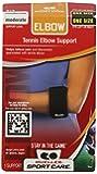 Mueller Tennis Elbow Support, Black, One Size