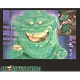 Ghostbuster 2 Montage of Slimer and woman inside costume 8 x 10 inch Photo