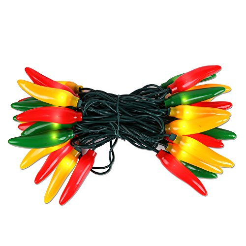 Chili Pepper Outdoor String Lights
