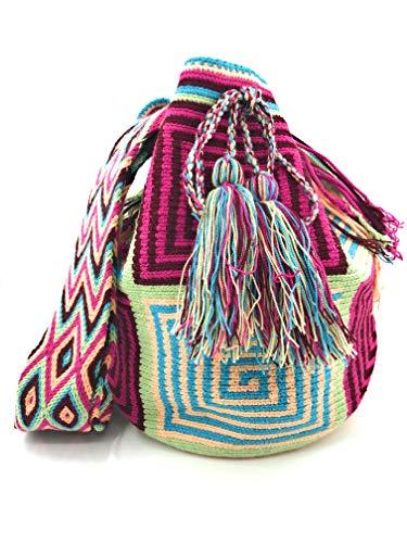 Donna Zaino Aguacatal Che Sia Wayuu Uomo Borse Artigianali Colombiane Per 6ZxaYZqwr