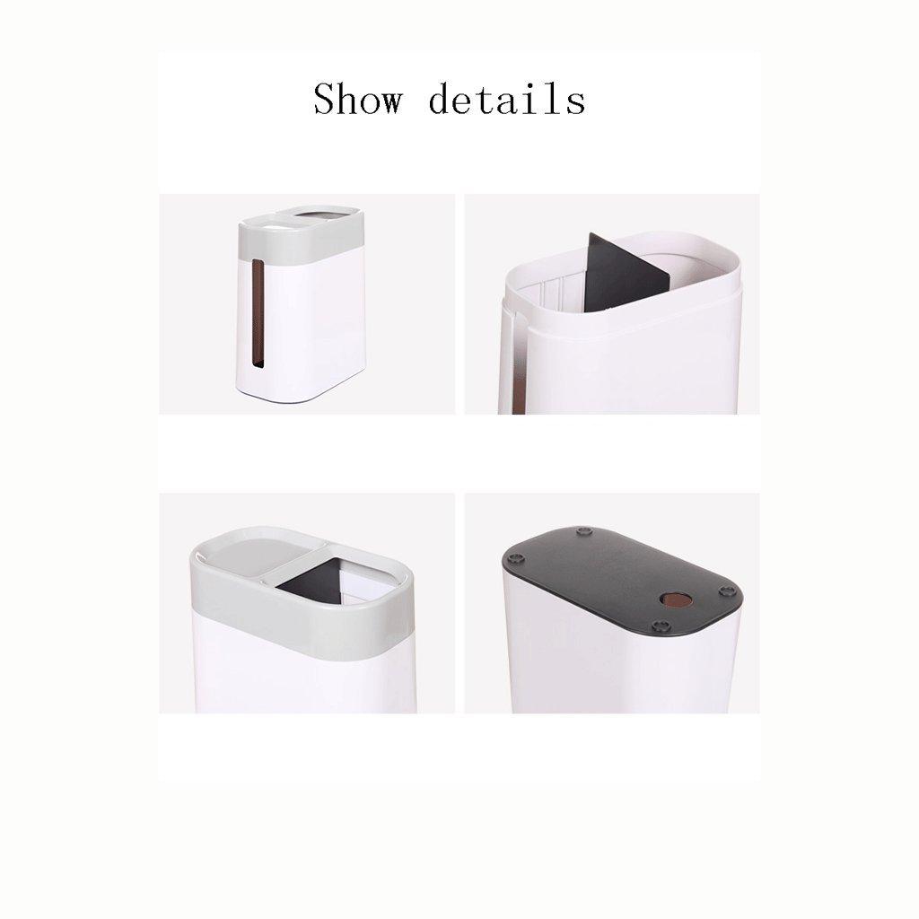 Abfall & Recycling Kreativer großer Schreibtisch überlagerter Mehrzweckabfalleimer LITING_Wang Aufbewahren & Ordnen