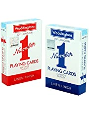Waddingtons Number 1 Classic Red and Blue Twin Pack Waddingtons Number 1