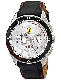 Ferrari Men's 0830186 Gran Premio Analog Display Quartz Black Watch