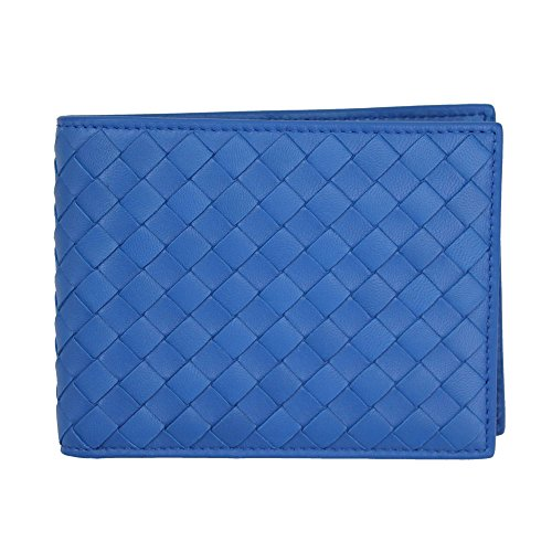 bottega-veneta-mens-intrecciato-blue-leather-bi-fold-wallet-148324-v001n