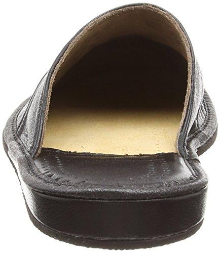 Herren-Hausschuhe | LEDER Pantoffeln | 28