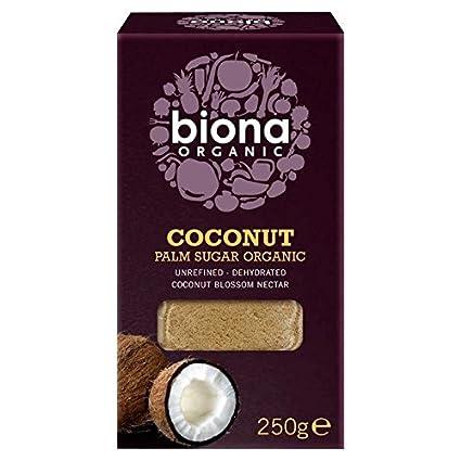 250g Biona Org/ánica Coconut Palm Az/úcar