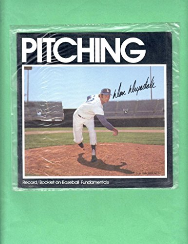 DON DRYSDALE 1973 AUDIO SPORTS RECORD / BOOKLET BASEBALL FUNDAMENTALS PITCHING