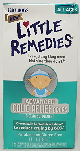 Little Remedies Advanced Colic Relief Drops, 4 Fluid Ounce Per Bottle (4 Bottles)