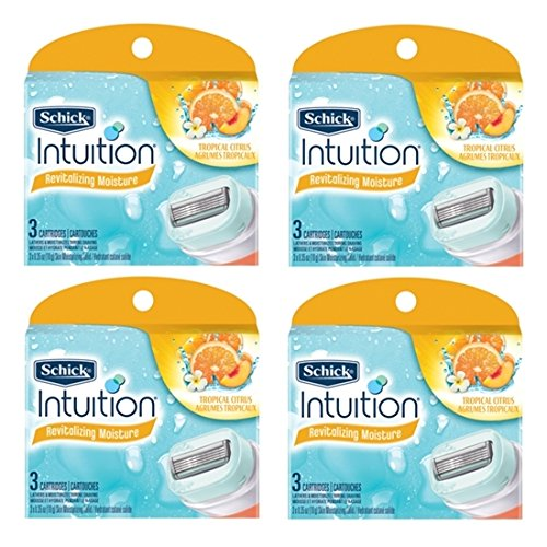 new-schick-intuition-tropical-citrus-razor-refill-12-blade