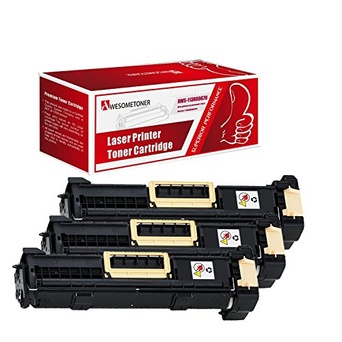 - Awesometoner Compatible 3 Pack 113R00670 Drum Cartridge For Xerox Phaser 5500 5550 High Yield 60,000 Pages