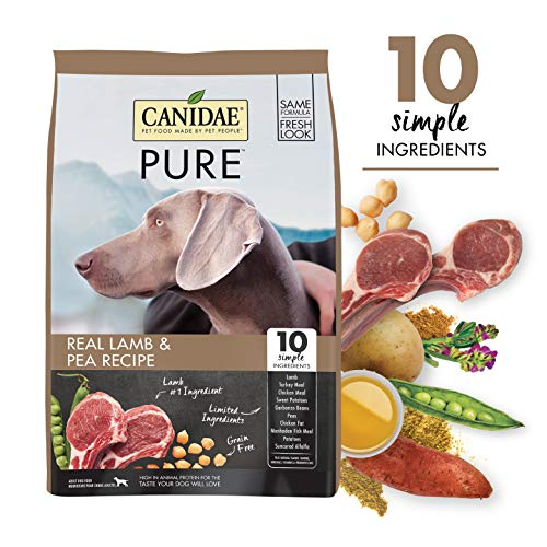 CANIDAE PURE Real Lamb, Limited Ingredient, Grain...