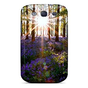 Christina JD AQm13340gQSu Case Cover Skin For Galaxy S3 (a Touch Of Purple)