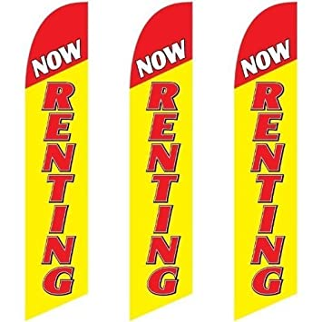 NOW HIRING super flag swooper polyester hire