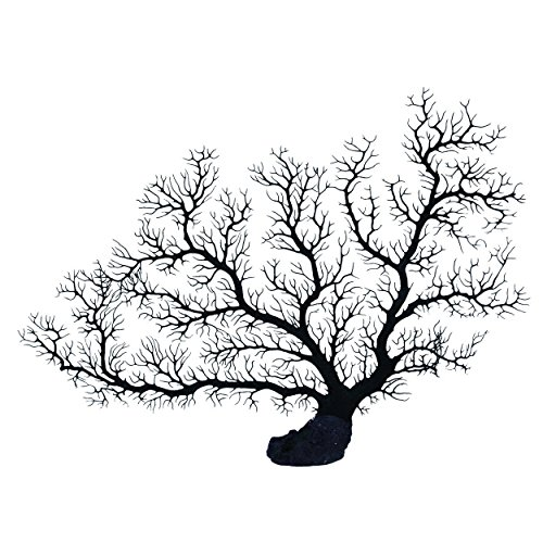 Underwater Treasures Sea Fan Coral - Black ()