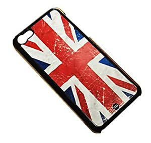 1888998231854 [Global Case] United Kingdom Flag Union Jack England Scotland Wales Vintage Common Wealth River Thames London Manchester Football World Cup Jeux Olympiques (TRANSPARENT CASE) Snap-on Cover Shell for Apple iPhone 6+ by ruishername