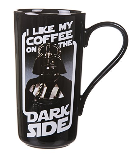 Boxed Darth Vader I Like My Coffee On the Dark Side Latte...