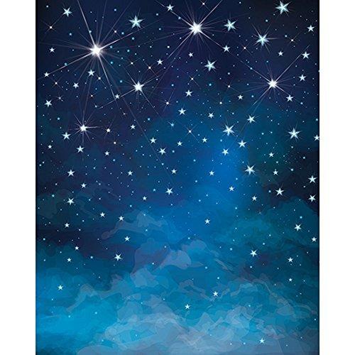 Amazon.com 5x7ft Newborn Photography Backdrops Evening Blue Sky Lighting Stars Photo Props for Kids JXUS-J01780-1 MP3 Players u0026 Accessories  sc 1 st  Amazon.com & Amazon.com: 5x7ft Newborn Photography Backdrops Evening Blue Sky ... azcodes.com