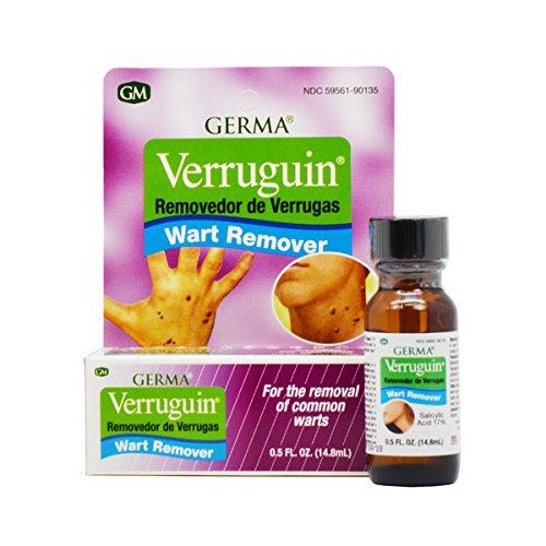 VERRUGUIN Skin Wart Remover Salicylic Acid 17% Removedor de Verrugas by Verruguin